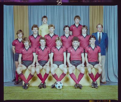Negative: St Bede's 1st XI Soccer 1983