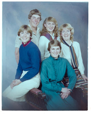 Negative: McDrury Family Portrait