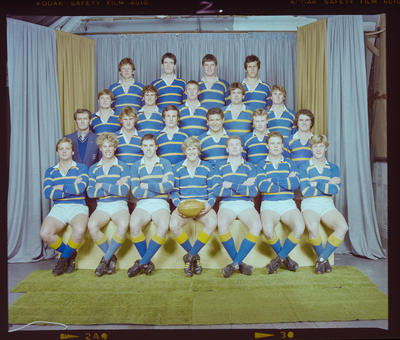Negative: Lincoln College Senior B Rugby 1983