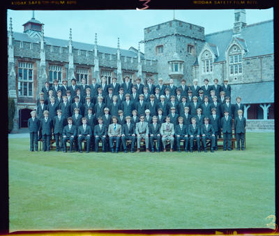 Negative: Christ's College Julius House 1983