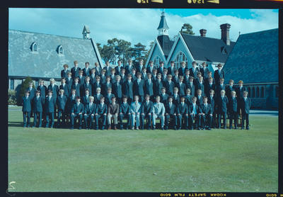 Negative: Christ's College Condell's House 1983