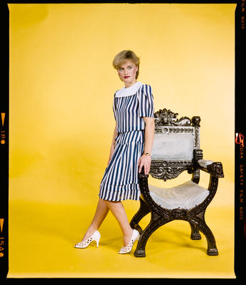 Negative: Lisa Morrisey Modelling Portrait