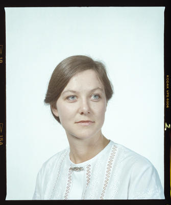 Negative: Hilary Smith Portrait