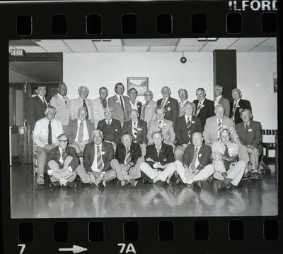 Negative: CHCH Working Men's Club Past Presidents 1984