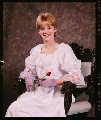 Negative: Miss McClennan Portrait