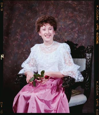 Negative: Miss C. Scott Portrait