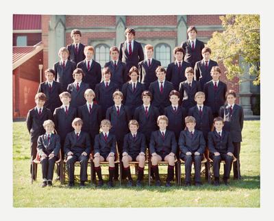 Negative: St Bede's Class Photo 1984