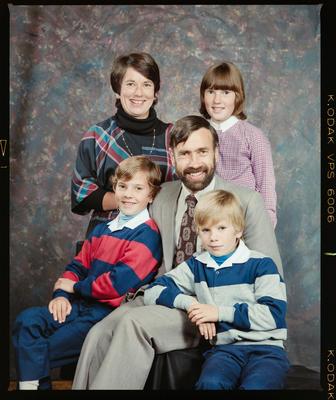 Negative: Sinclair Family Portrait