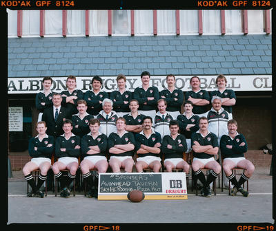 Negative: Albion Rugby Club 3rd Grade 1990