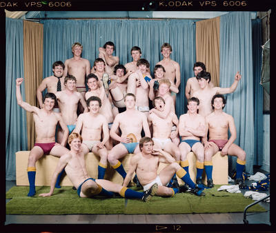 Negative: Lincoln College 2nd XV Rugby 1984