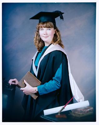 Negative: Miss Stedman Graduate