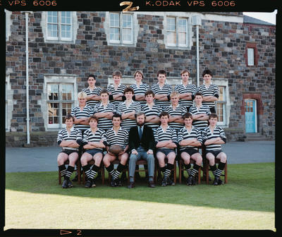 Negative: Christ's College U16 Rugby 1984