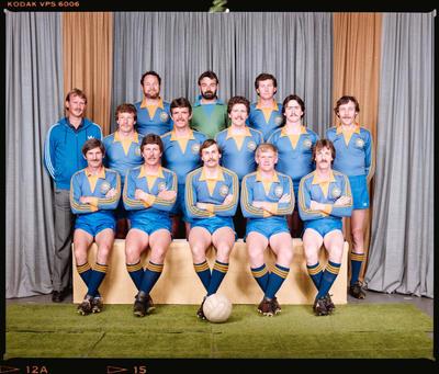 Negative: Woolston Working Men's Club Soccer Team 1984