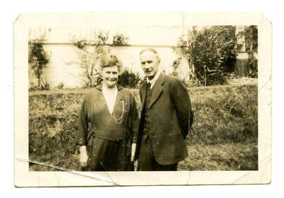 Photograph: Woman and man