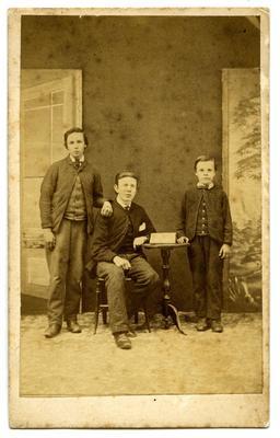 Photograph: William, James and Thomas Smith