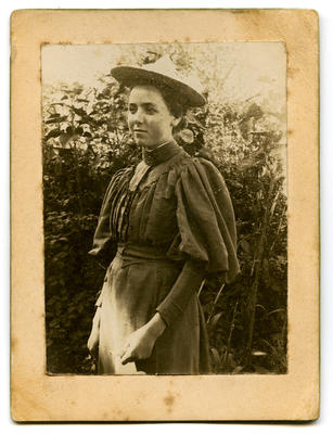 Photograph, Black and White: Winifred Lovell-Smith 1893
