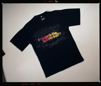 Negative: Graffiti Words T-shirt