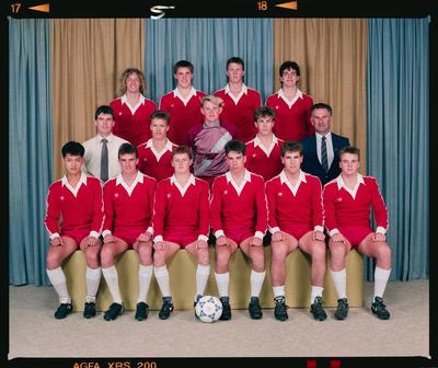 Negative: Christchurch Secondary Schools Soccer 1990