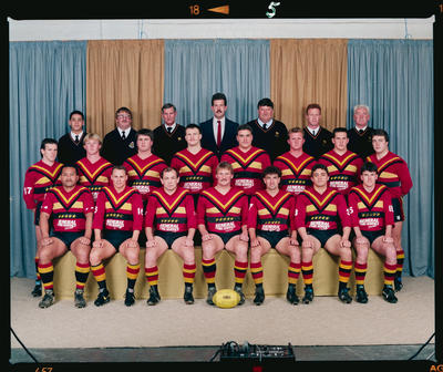 Negative: Halswell Rugby League Team 1990