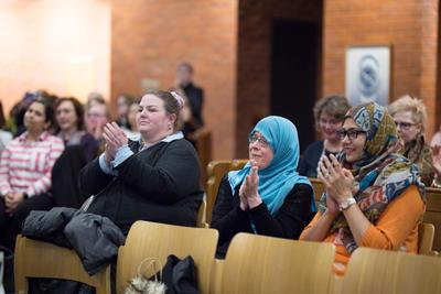 Digital Photograph: Unity Audience