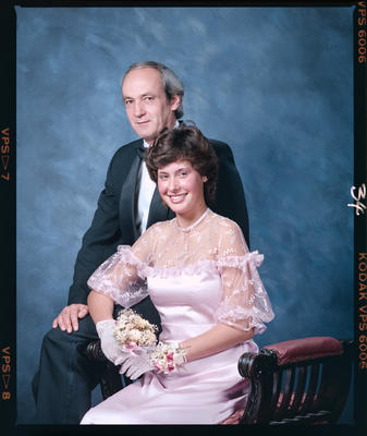 Negative: Marian College Ball 1986