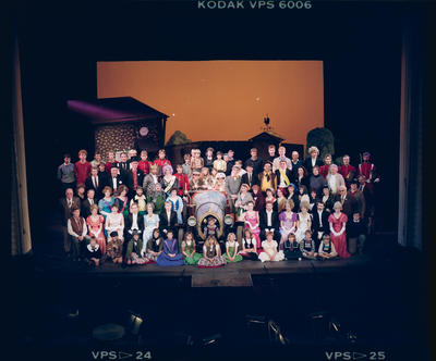 Negative: Chitty Chitty Bang Bang Cast and Crew On Stage