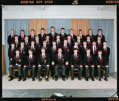 Negative: St Bede's College Prefects 1990