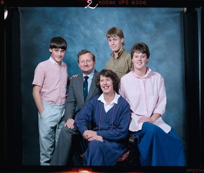 Negative: Hamilton Family Portrait
