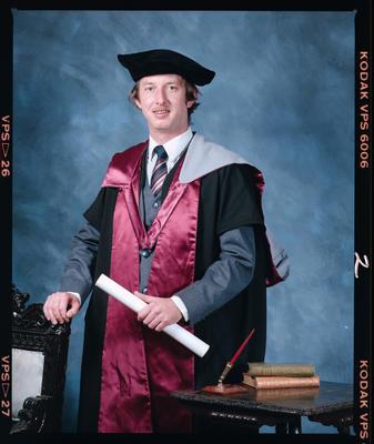 Negative: Alan McKinley Graduate
