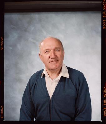 Negative: Mr Rodgers Passport Photo