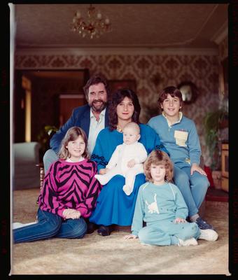 Negative: Pearson Family Portrait