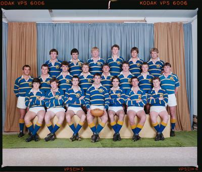 Negative: Lincoln College Springbucks XV 1986