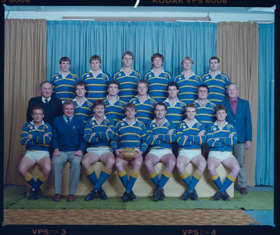 Negative: Lincoln College 1st XV 1986
