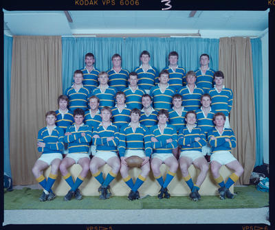 Negative: Lincoln College Cunning Stunts Rugby 1986