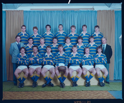 Negative: Lincoln College Rugby Team 1986