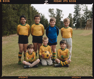 Negative: Burnham Camp Junior Soccer 1986