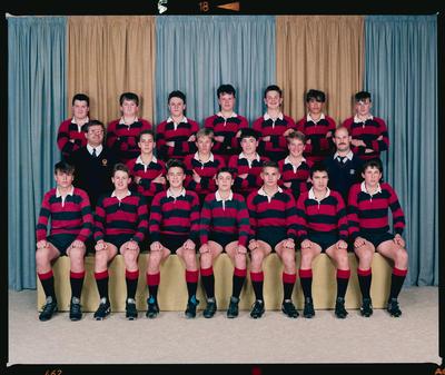Negative: Canterbury U14 Rugby 1990