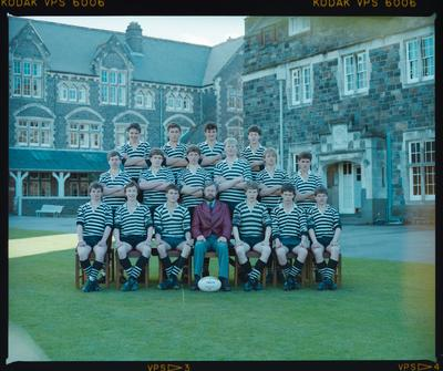 Negative: Christ's College Under 16 Rugby 1986