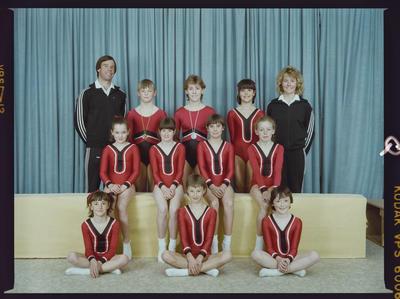 Negative: Canterbury Gymnastics Junior Team Members
