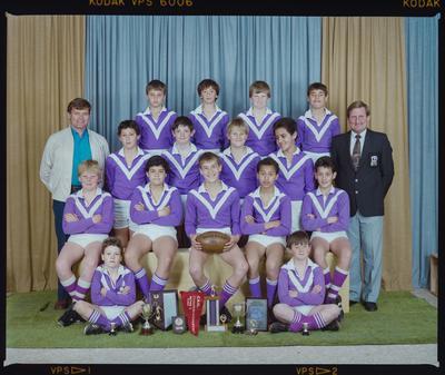 Negative: Parklands Rugby Team 1986