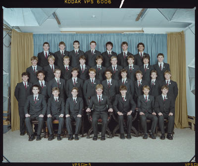 Negative: St Bede's Prefects 1986