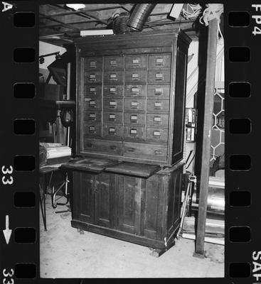 Negative: Standish & Preece Cabinet