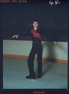 Negative: Big Apple NZ Ice-skating Championships Man Skating