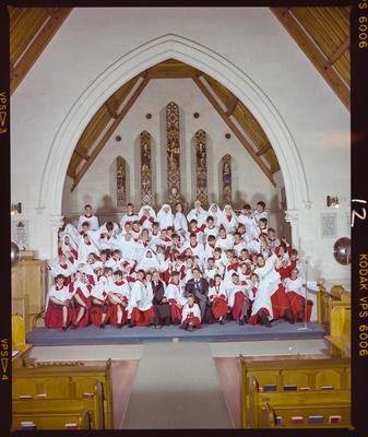 Negative: Christ's College Choir 1986