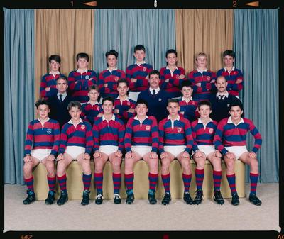 Negative: Sydenham U14 Rugby 1990