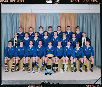 Negative: Canterbury University Rugby Club 1990