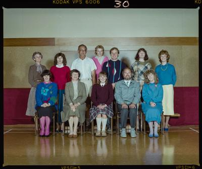 Negative: St Marks School Staff and Student 1986