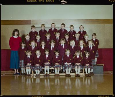 Negative: St Marks Junior Class 1986