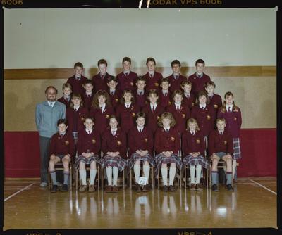 Negative: St Marks Form 2 Class 1986