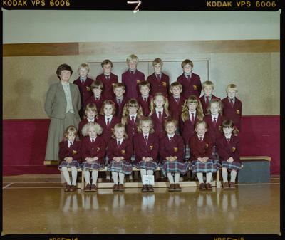 Negative: St Marks J1 Class 1986